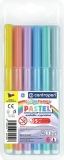 Flomasteriai Color World PASTEL Centropen,  6 spalvų