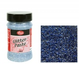 "3D gelis su blizgučiais Viva Decor ""Glitter-Paste"", 90 ml. nakties mėlynos sp. (Nr. 604)"