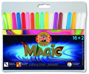 Flomasteriai MAGIC 16+2 sp. Koh-I-Noor