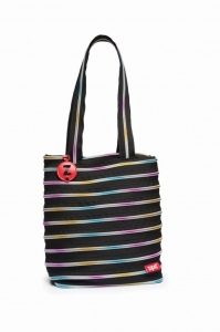 "426bce658c5b Сумочка ""Premium Tote Bag"" ZIP IT, черного цв. с цветными деталеми ..."