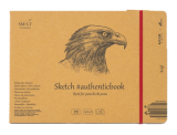 Альбом для эскизов KRAFT AUTHENTICBOOK А5, 24 листа, 90 г.